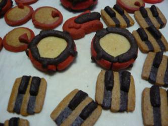 鍵盤クッキー